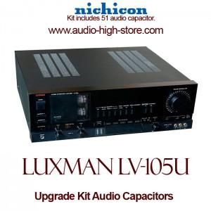 Luxman LV-105U Upgrade Kit Audio Capacitors