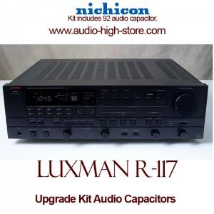 Luxman R-117 Upgrade Kit Audio Capacitors