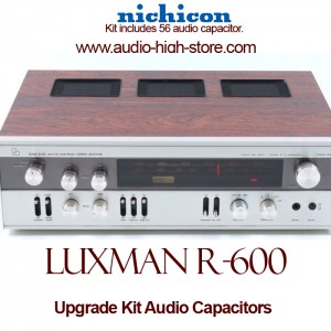 Luxman R-600 Upgrade Kit Audio Capacitors