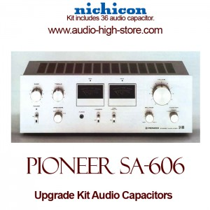 Pioneer SA-606 Upgrade Kit Audio Capacitors