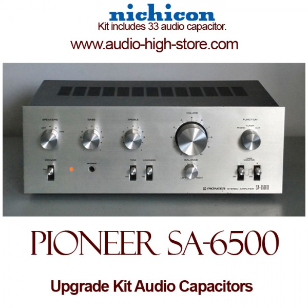 Pioneer SA-6500 Upgrade Kit Audio Capacitors