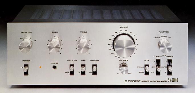 Pioneer SA-6600