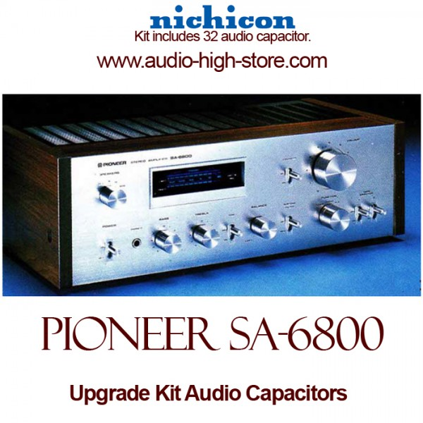 Pioneer SA-6800 Upgrade Kit Audio Capacitors
