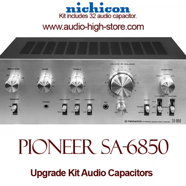 Pioneer SA-6850 Upgrade Kit Audio Capacitors