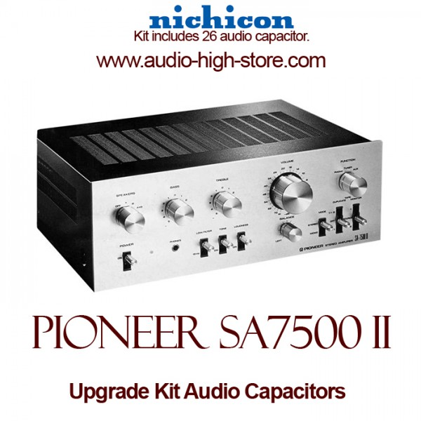 Pioneer SA-7500 II Upgrade Kit Audio Capacitors