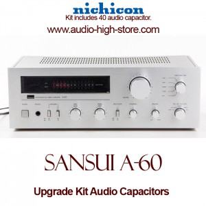 Sansui A-60 Upgrade Kit Audio Capacitors