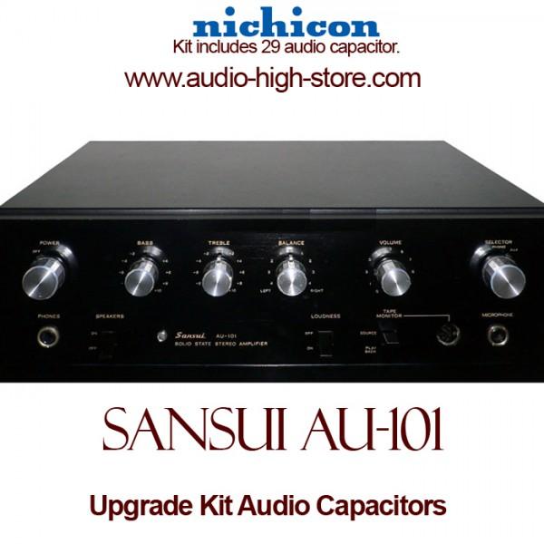 Sansui AU-101 Upgrade Kit Audio Capacitors
