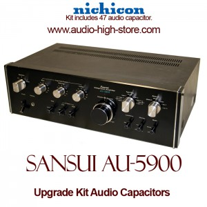 Sansui AU-5900 Upgrade Kit Audio Capacitors