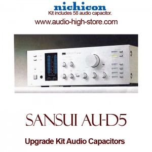 Sansui AU-D5 Upgrade Kit Audio Capacitors