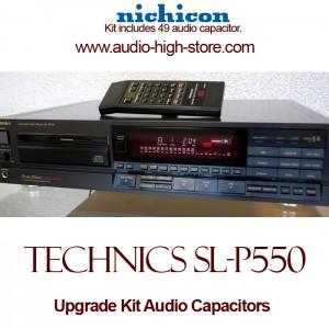 Technics SL-P550 Upgrade Kit Audio Capacitors