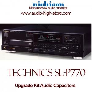 Technics SL-P770 Upgrade Kit Audio Capacitors