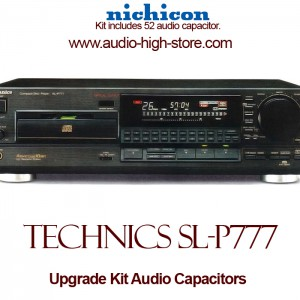 Technics SL-P777 Upgrade Kit Audio Capacitors
