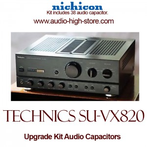 Technics SU-VX820 Upgrade Kit Audio Capacitors