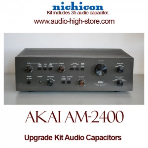 Akai AM-2400 Upgrade Kit Audio Capacitors