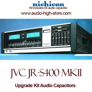 JVC JR-S400 mkII Upgrade Kit Audio Capacitors
