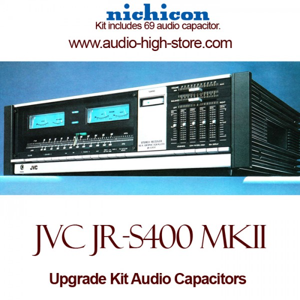 JVC JR-S400 mkII Upgrade Kit Audio Capacitors