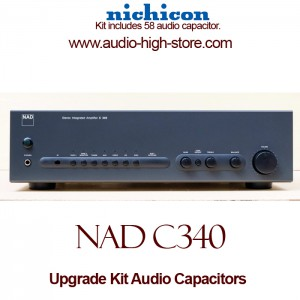 NAD C340 Upgrade Kit Audio Capacitors