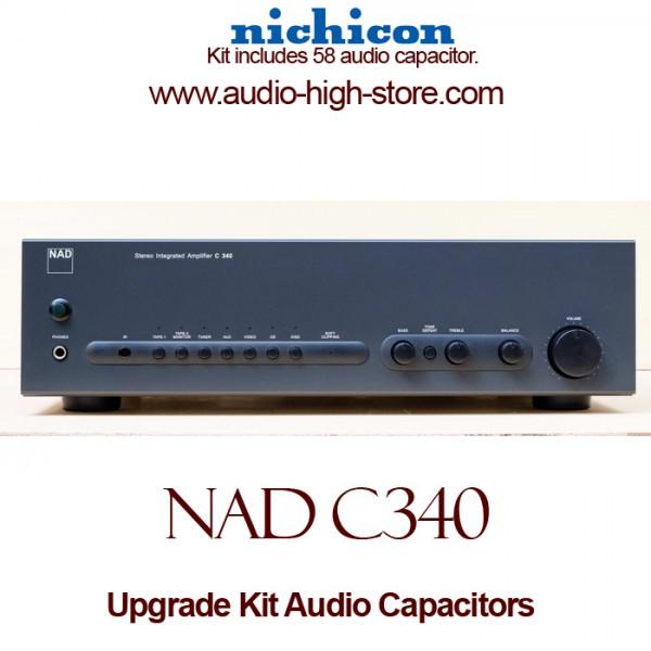 NAD C340 Upgrade Kit Audio Capacitors
