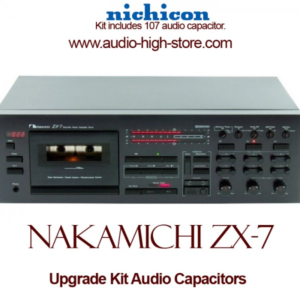 Nakamichi ZX-7 Upgrade Kit Audio Capacitors