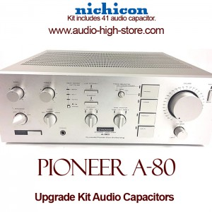 Pioneer A-80 Upgrade Kit Audio Capacitors