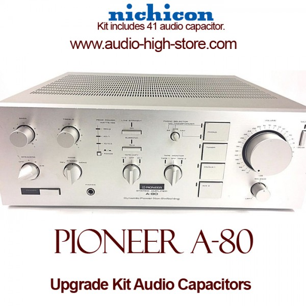 Pioneer A-80 Upgrade Kit Audio Capacitors