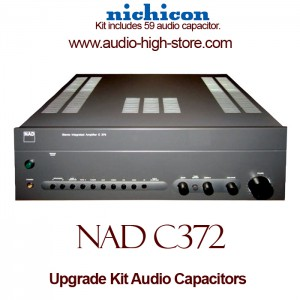 NAD C372 Upgrade Kit Audio Capacitors