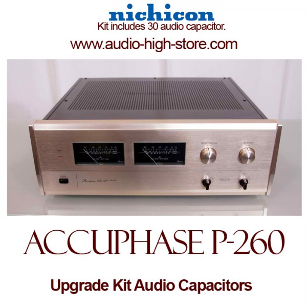 Accuphase P-260 Upgrade Kit Audio Capacitors
