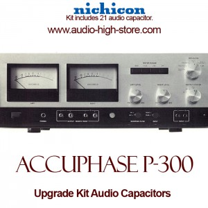 Accuphase P-300 Upgrade Kit Audio Capacitors