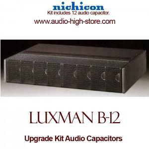 Luxman B-12 Upgrade Kit Audio Capacitors