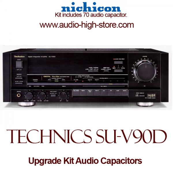Technics SU-V90D Upgrade Kit Audio Capacitors