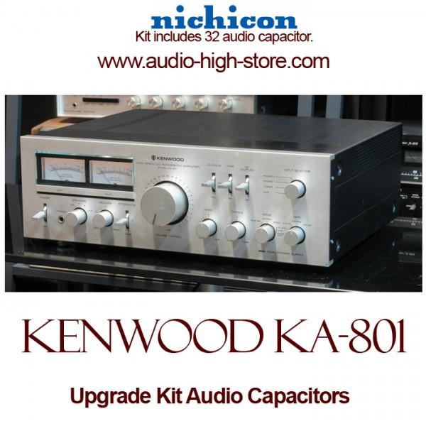 Kenwood KA-801 Upgrade Kit Audio Capacitors