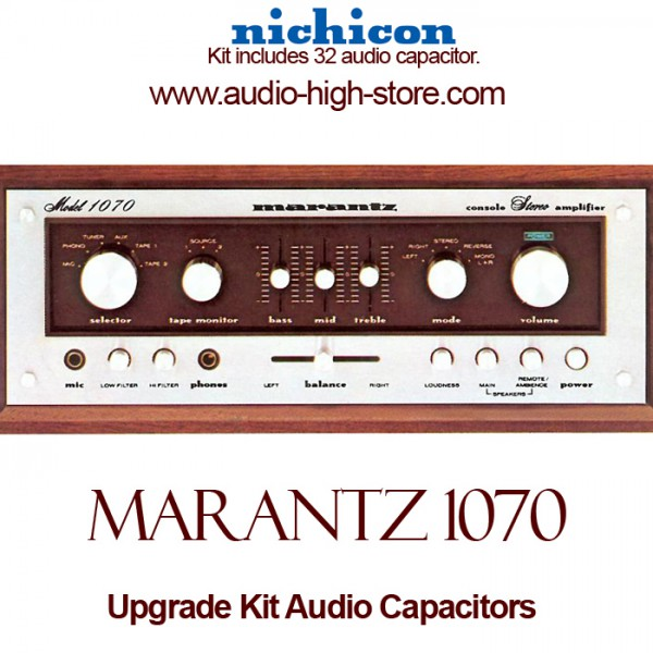 Marantz 1070 Upgrade Kit Audio Capacitors