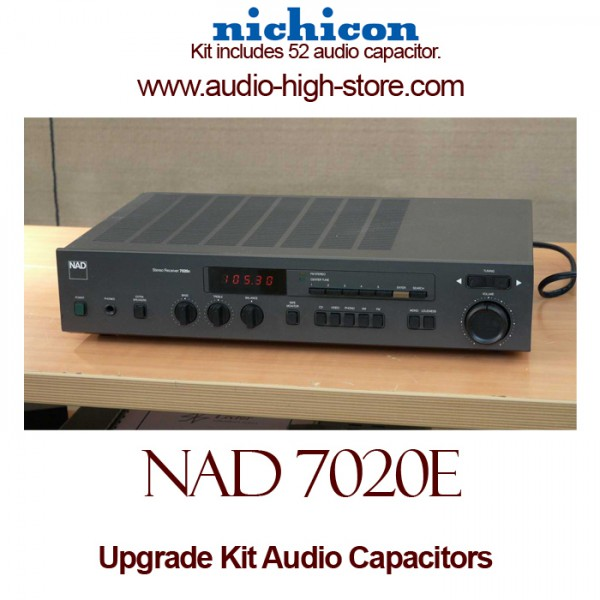 NAD 7020e Upgrade Kit Audio Capacitors