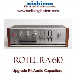 Rotel RA-610 Upgrade Kit Audio Capacitors