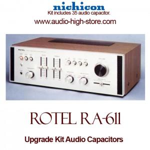 Rotel RA-611 Upgrade Kit Audio Capacitors