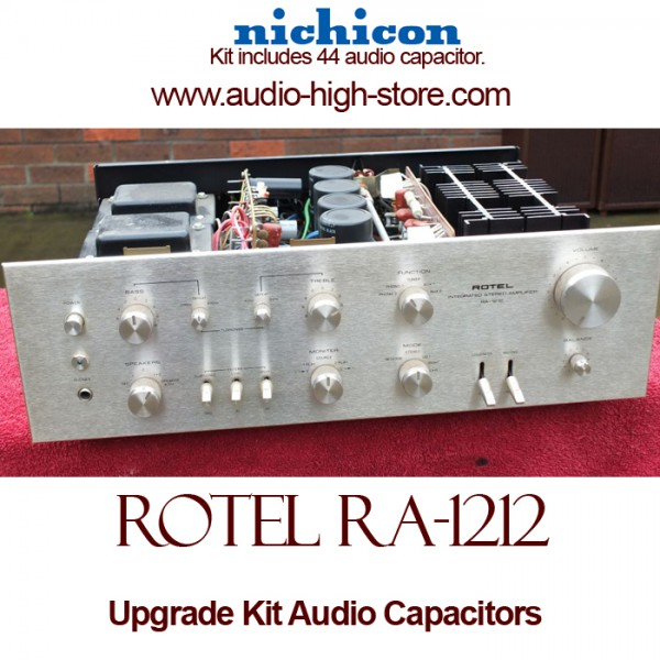 Rotel RA-1212 Upgrade Kit Audio Capacitors