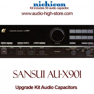 Sansui AU-X901 Upgrade Kit Audio Capacitors