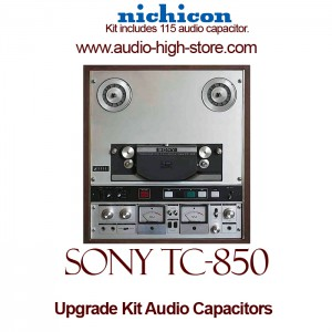 Sony TC-850 Upgrade Kit Audio Capacitors