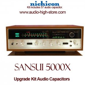 Sansui 5000X Upgrade Kit Audio Capacitors