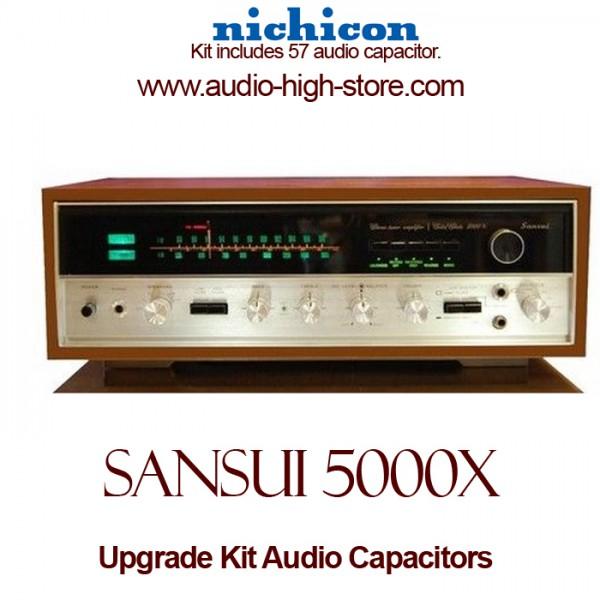 Sansui 5000X Upgrade Kit Audio Capacitors