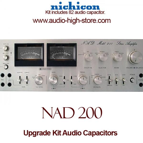 NAD 200 Upgrade Kit Audio Capacitors
