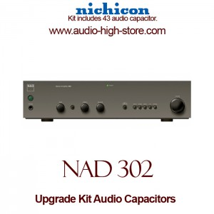 NAD 302 Upgrade Kit Audio Capacitors