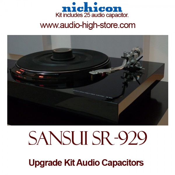 Sansui SR-929 Upgrade Kit Audio Capacitors
