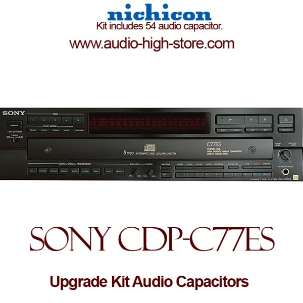 Sony CDP-C77ES Upgrade Kit Audio Capacitors