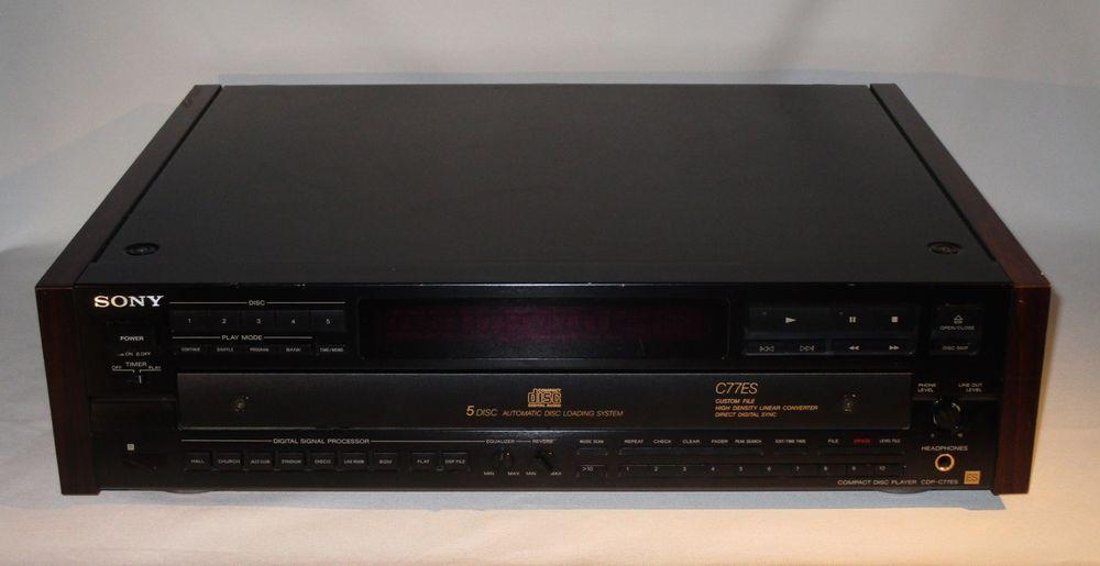 Sony CDP-C77ES