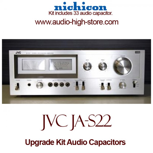 JVC JA-S22 Upgrade Kit Audio Capacitors
