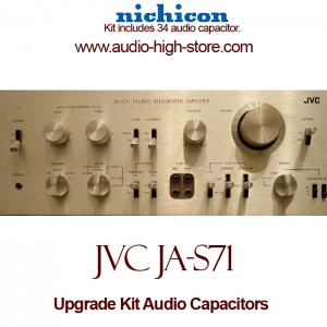 JVC JA-S71 Upgrade Kit Audio Capacitors