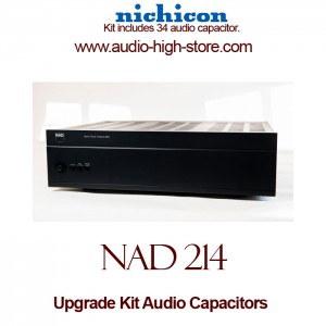 NAD 214 Upgrade Kit Audio Capacitors