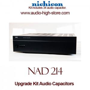 NAD 214 Upgrade Kit Audio Capacitors