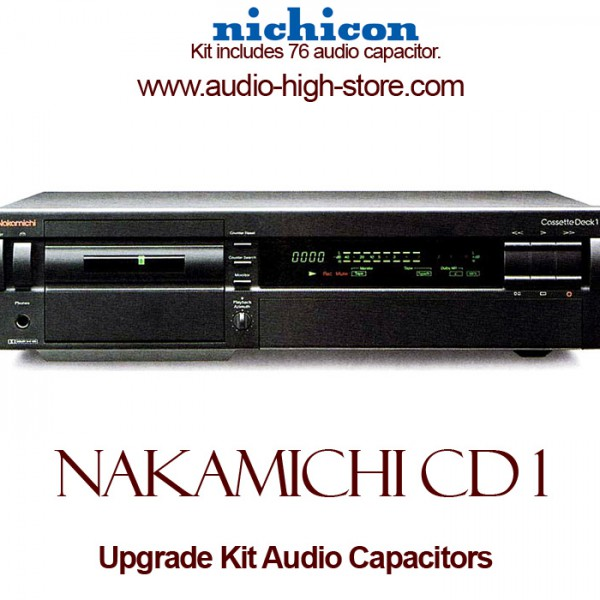 Nakamichi Cassette Deck 1 Upgrade Kit Audio Capacitors